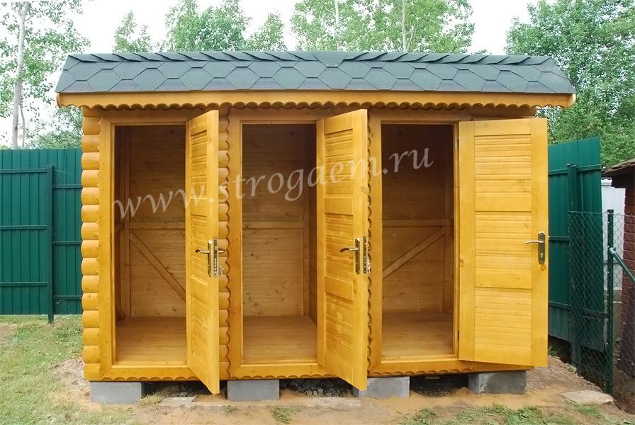 Душ для дачи и туалет для дачи под одной крышей своими руками фото